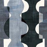 Geometric Deco I BW