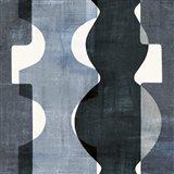Geometric Deco II BW