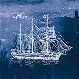 Sailing Ships III Indigo