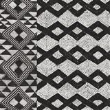 Kuba Cloth Mat I BW