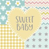 Baby Quilt I Sweet Baby Yellow