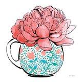 Floral Teacups I