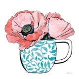 Floral Teacups II