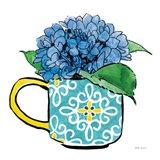 Floral Teacups III