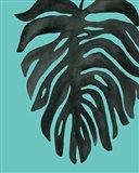 Tropical Palm II BW Turquoise