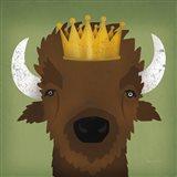 Buffalo III with Crown