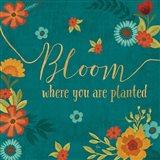 Flourish I Teal