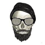Hipster Skull II