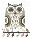 Folk Lodge Owl v2 Hygge