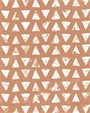Mark Making Tile Pattern IV Rust Crop