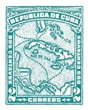 Cuba Stamp XIII Bright