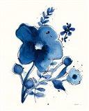 Independent Blooms Blue I