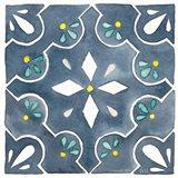Garden Getaway Tile II Blue