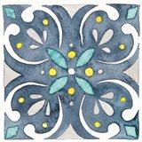 Garden Getaway Tile IV Blue