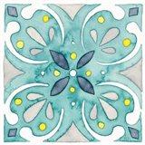 Garden Getaway Tile IV Teal