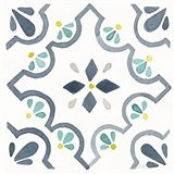 Garden Getaway Tile II White