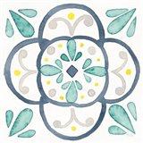 Garden Getaway Tile VII White