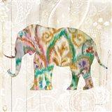 Boho Paisley Elephant II v2