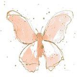 Gilded Butterflies II Blush
