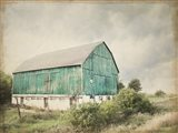 Late Summer Barn I Crop Vintage