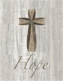 Words for Worship Hope on Wood