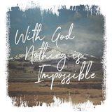 Wild Wishes I With God