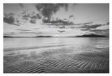 Samish Bay Sunset II BW with border