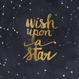 Starry Words Gold - Wish Upon A Star