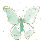 Gilded Butterflies II Mint