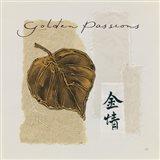 Bronze Leaf III Golden Passions