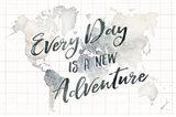 Watercolor Wanderlust World Adventure