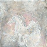 Blush Horses I