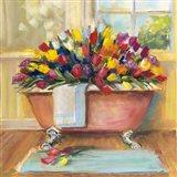 Bathtub Bouquet II