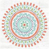 Lovely Llamas Mandala I