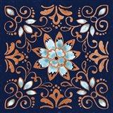October Garden XI Blue