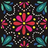 Floral Fiesta Tile II