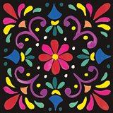 Floral Fiesta Tile III