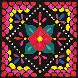 Floral Fiesta Tile IV