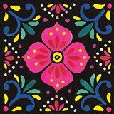 Floral Fiesta Tile IX