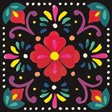 Floral Fiesta Tile XII