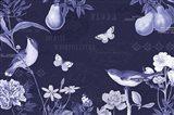 Botanical Blue IV
