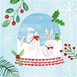 Snow Globe Animals IV