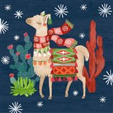 Lovely Llamas IV Christmas
