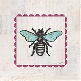 Bee Stamp Bright