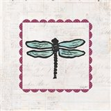 Dragonfly Stamp Bright