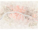 Watercolor Wanderlust Paris Blush Crop