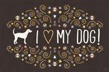 Otomi Dogs I Dark Neutral