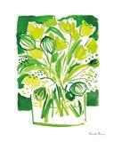 Lemon Green Tulips II