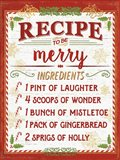 Holiday Recipe IV Script