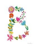 Floral Alphabet Letter II